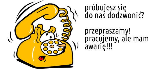 Awaria linii telefonicznej